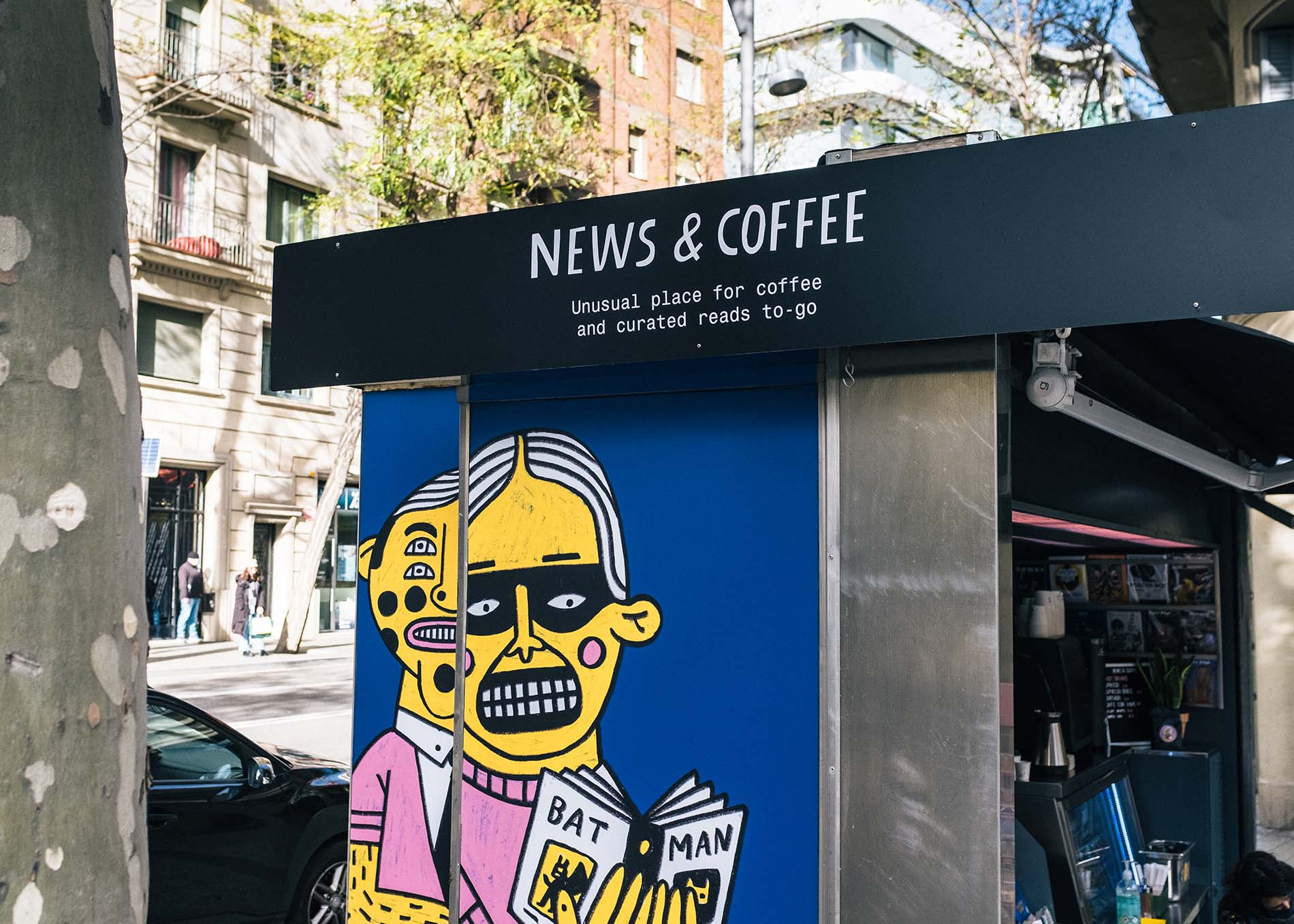 News & Coffee, Barcelona